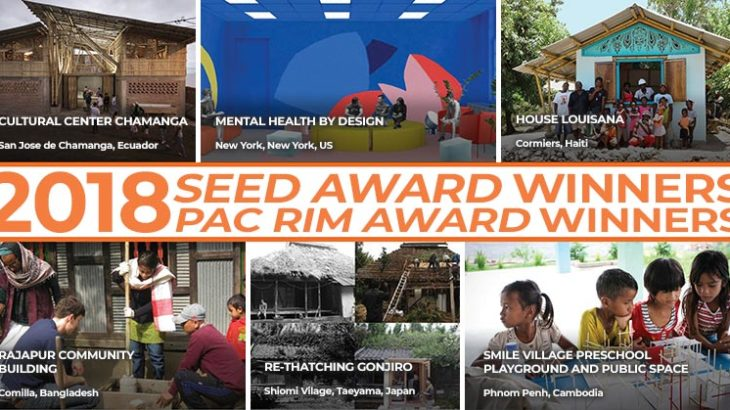 SEED and Pacific Rim Award Winners